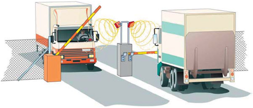 Профессиональное оборудование для идентификации автомобилей на расстоянии до 14 м